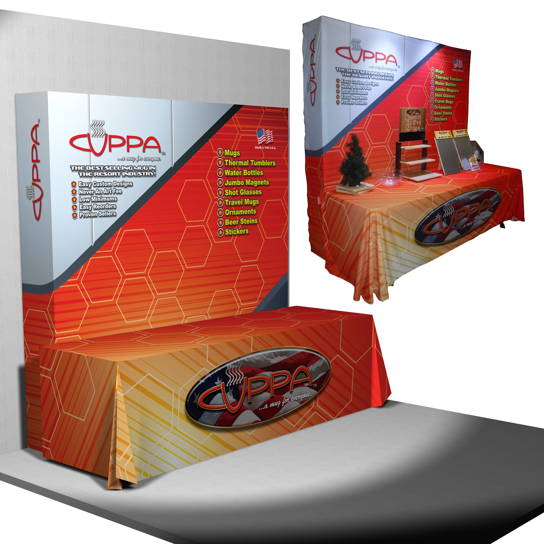 3D Prototyping Trade Show Booth Marketing Promotion CAD